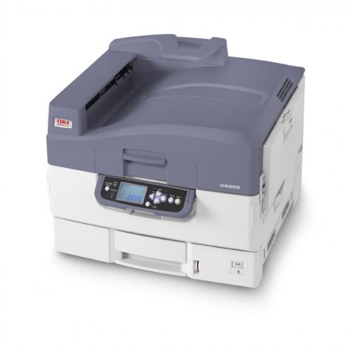 OKI C9655n SRA3 Colour LED Laser Printer - with a Free Extra Rainbow Pack of Toner