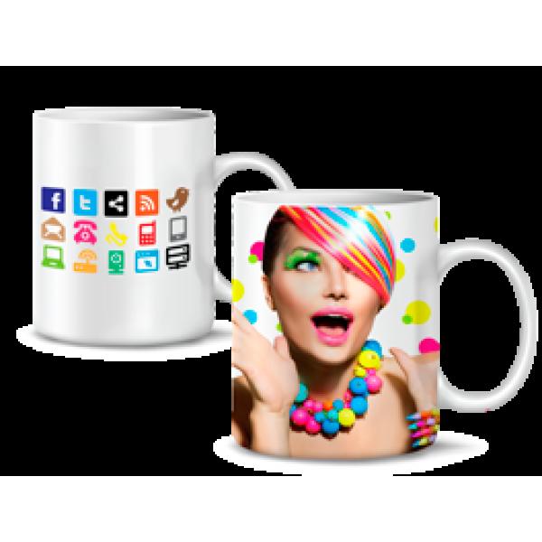 image relating to Printable Mugs identify X-Push OnDemand FAB Laser/Sublimation Printable Mugs - 36 Pack